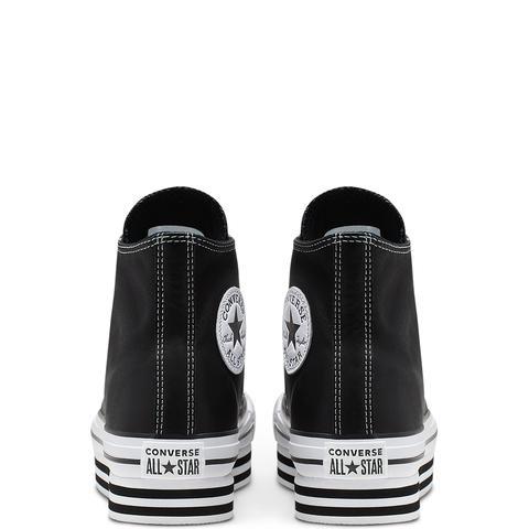 Converse Chuck Taylor All Star Platform High Top Black, White
