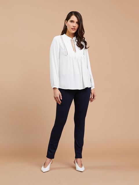 nuovo concetto 584ce 947a0 Pantaloni Skinny In Punto Milano from Fiorella Rubino on 21 ...