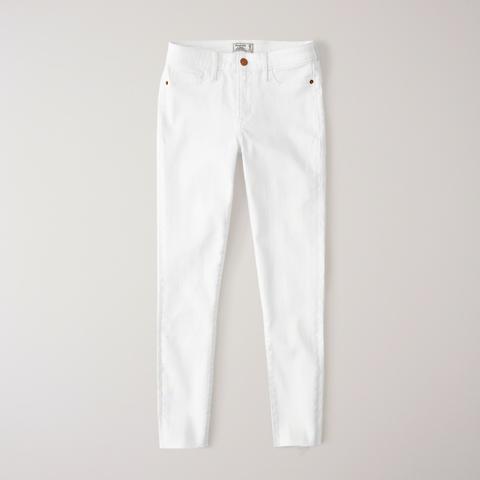 Jeans Tobilleros De Tiro Bajo de Abercrombie & Fitch en 21 Buttons