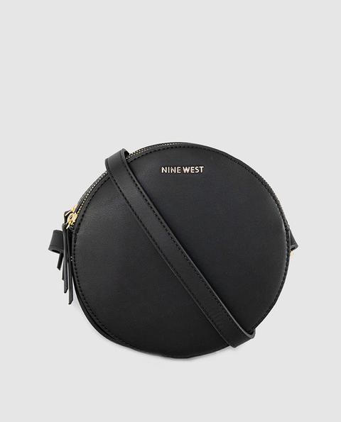 Nine West - Bandolera Mini Redonda De Mujer En Negro Con Doble Compartimento de El Corte Ingles en 21 Buttons
