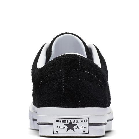 Converse One Star Premium Suede Black, White
