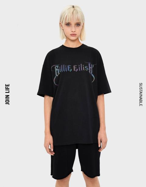 Billie Eilish T Shirt Bershka Off 72 Free Shipping
