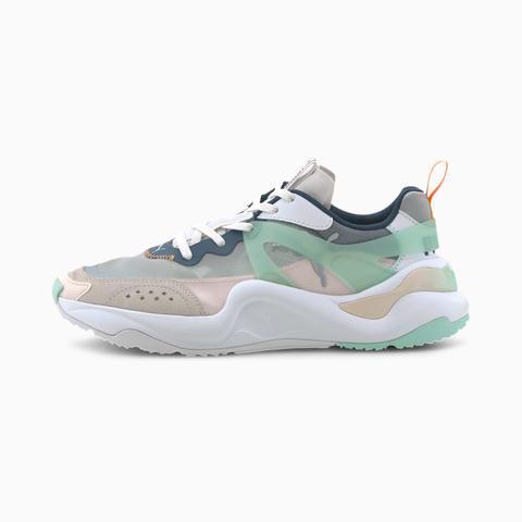 Zapatillas Para Mujer Rise, Blanco/verde, Talla 35,5 | Puma Mujeres de Puma en 21 Buttons