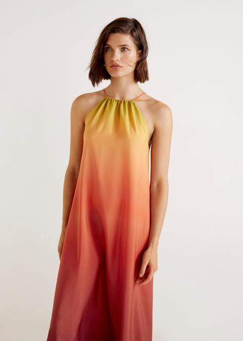 Vestido Estampado Tie-dye