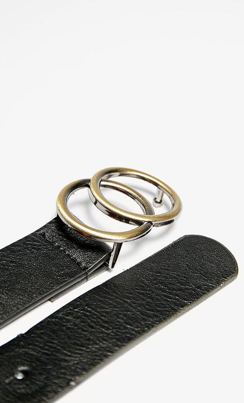 Cinturón Hebilla Cruzada