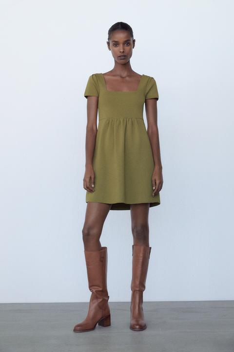 Vestido Mini Punto