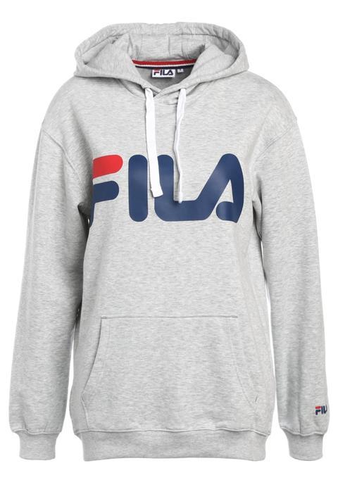 Fila Classic Logo Hood Kangaroo Jersey Con Capucha Light Gey Melange de Zalando en 21 Buttons