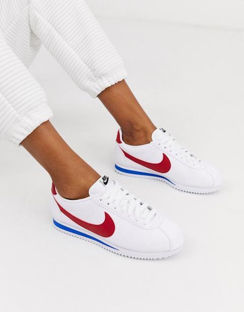 Zapatillas De Deporte Clásicas En Cuero Con Diseño Retro Cortez De Nike de ASOS en 21 Buttons