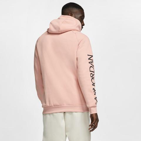 felpa rosa uomo con cappuccio nike