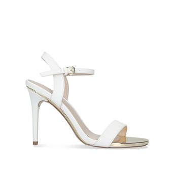 Carvela Livid - White Stiletto Heel
