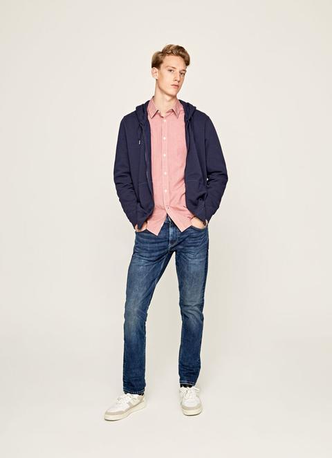 Stanley Taper Fit Regular Waist Jeans de Pepe Jeans en 21 Buttons