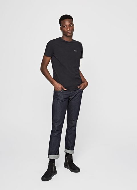 Camiseta Básica Original Basic S/s de Pepe Jeans en 21 Buttons