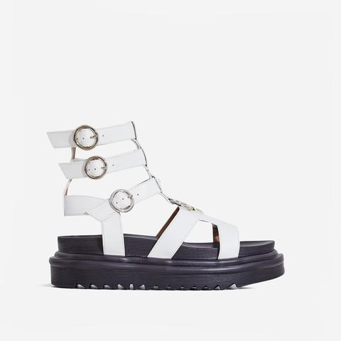 Gladys Chunky Sole Gladiator Sandal In