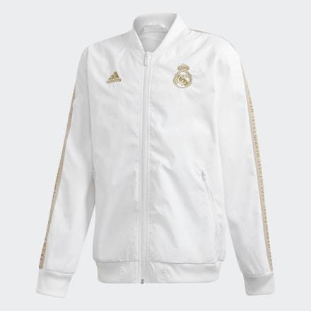 Chaqueta Himno Real Madrid de Adidas en 21 Buttons