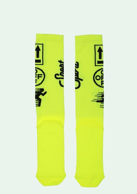 Yellow Socks de Off White en 21 Buttons