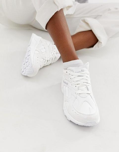 Zapatillas Blancas Aztrek De Reebok de ASOS en 21 Buttons