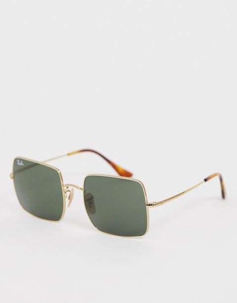 Gafas De Sol Cuadradas 0rb1971 De Ray-ban-dorado