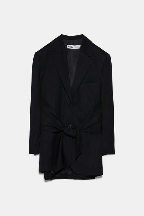Blazer Lazada de Zara en 21 Buttons