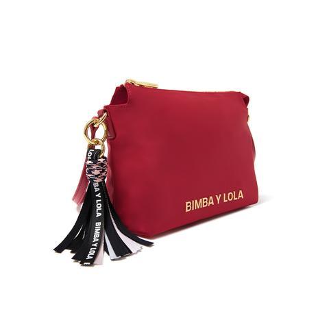 Bolso Bandolera Rojo de Bimba Y Lola en 21 Buttons