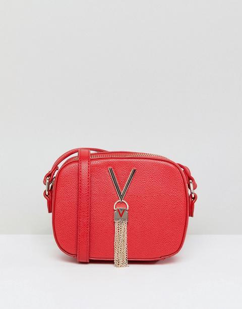 Bandolera Estilo Cámara Con Detalle De Borla En Rojo Divina De Valentino By Mario Valentino de ASOS en 21 Buttons