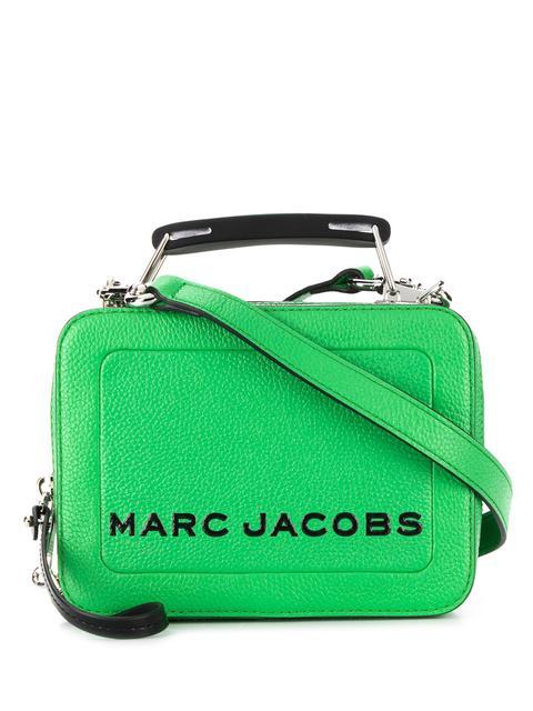 Marc Jacobs Bolso Shopper Con Logo Estampado - Verde