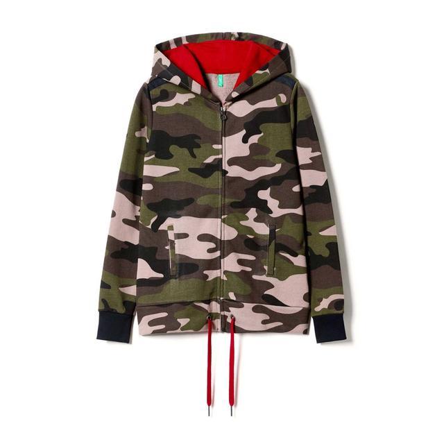 super popolare 36668 5bd3c felpa camouflage