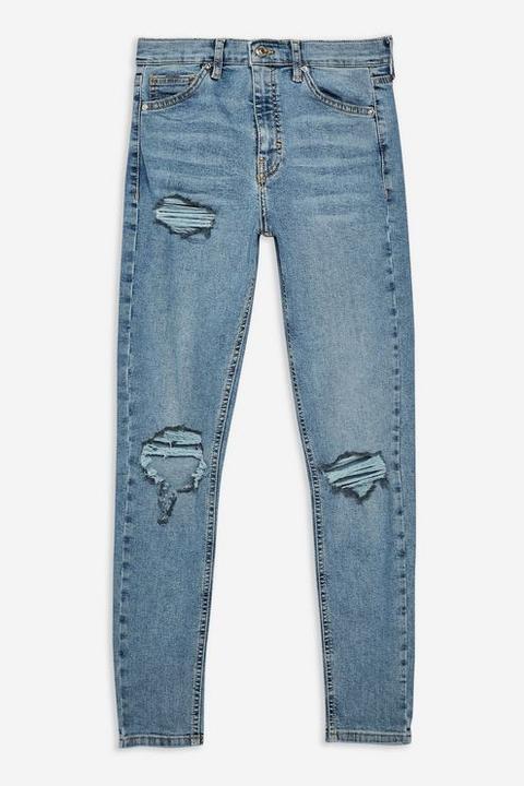 Bleach Ripped Jamie Jeans