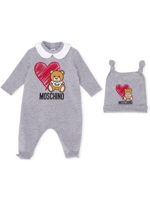 design di qualità 01c72 c8ef9 Moschino Kids - Pigiama Teddy Bear Con Stampa from Farfetch on 21 Buttons