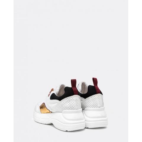 Sneaker Plataforma Blanca