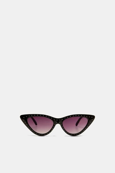 Gafas Cat Eye Tachas