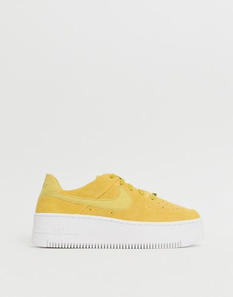 air force 1 sage jaune