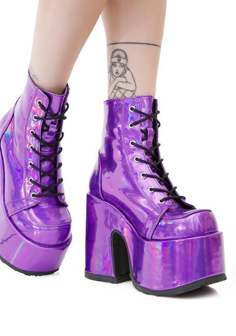 Rave Royalty Platform Boots