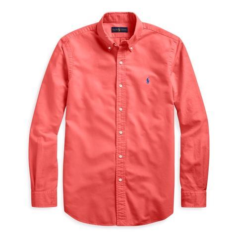Camisa Oxford Teñida En Prenda de Ralph Lauren en 21 Buttons