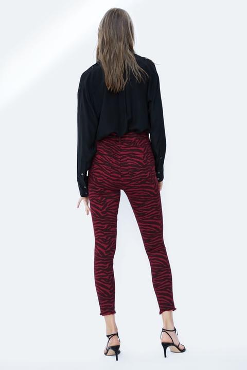 Jeans Zw Premium Red Zebra