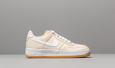 novísimo selección super barato se compara con estilo distintivo Nike Air Force 1 '07 Premium Light Cream/ White-crimson Tint from ...