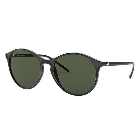 Rb4371 Mujer Sunglasses Lentes: Verde, Montura: Negro de Ray-Ban en 21 Buttons