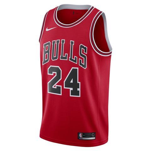 Lauri Markkanen Bulls Icon Edition Camiseta Nike Nba Swingman - Hombre - Rojo de Nike en 21 Buttons
