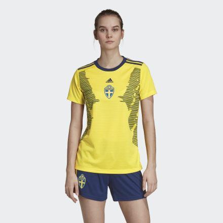 Camiseta Primera Equipación Suecia de Adidas en 21 Buttons