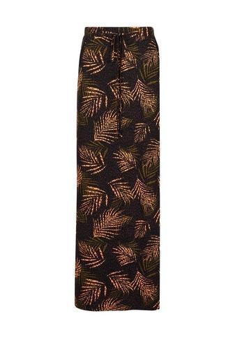 Womens Black Tie Waist Jersey Maxi Skirt Black, Black di Dorothy Perkins su 21 Buttons