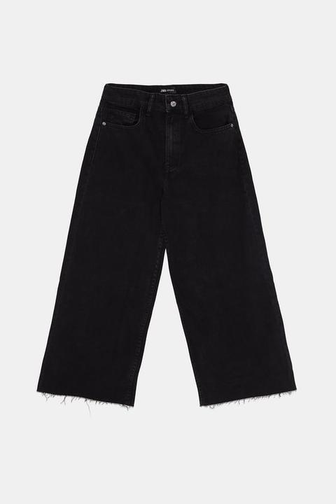 Jeans Culotte Hi Rise