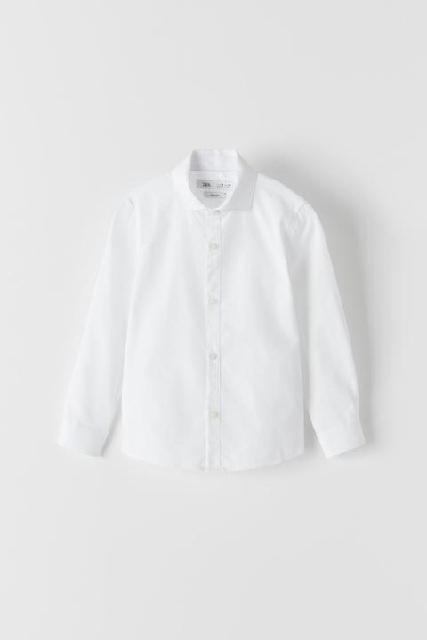 Camisa Estructura Blanca