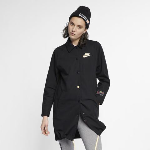 21 Jacke From Sportswear Nike Schwarz Buttons On Nsw 8wmNn0