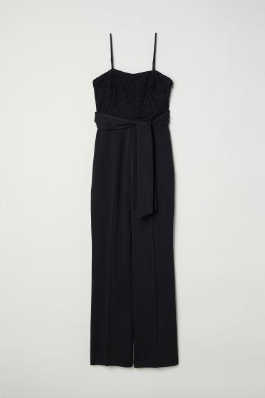 valor fabuloso disfruta del precio de descuento precio oficial H & M - Mono Con Encaje - Negro from H&M on 21 Buttons