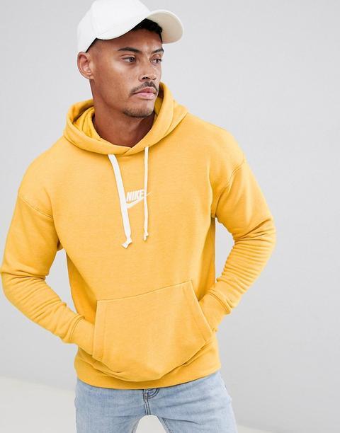 nike yellow hoodie