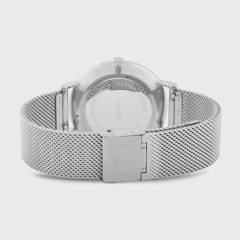 La Bohème Mesh, Silver, White/silver