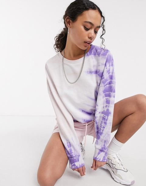 Noisy May - Sweat-shirt Oversize Imprimé Tie-dye-multi
