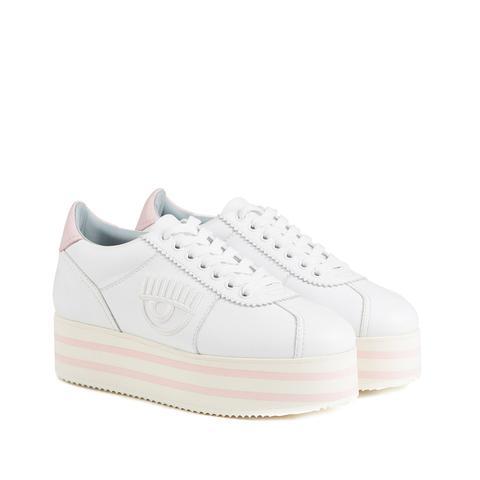 Sneakers Logomania Platform from Chiara