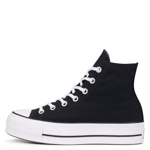 Converse Chuck Taylor All Star Lift High Top Black, White