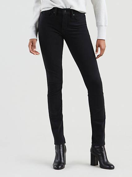 311™ Shaping Skinny Stretch Jeans Negro / New Ultra Black de Levi's en 21 Buttons