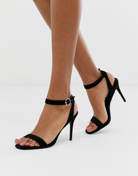 buy popular 704c5 cdfb5 Sandalette Mit Rundem Absatz from Zara on 21 Buttons